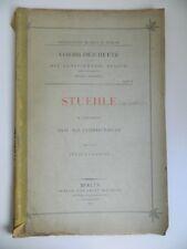 Vorbilder-Hefte Kunstgewerbe-Museum STUEHLE Julius Lessing Ernst Wasmuth 1889