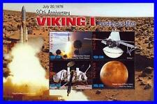Nevis 2006 Usa in Space Viking on Mars M/S Sc#1485 Mnh Cv$9.00 Astronomy