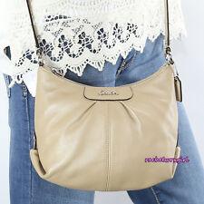 NWT Coach Ashley Leather Swingpack Crossbody Shoulder Bag Purse Z52167 NEW Khaki