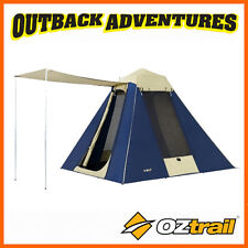 OZTRAIL TOURER 9 CANVAS TENT 4 PERSON TOURING TENT