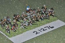 15mm ACW / confederate - american civil war infantry 24 figures - inf (21276)