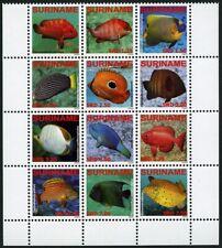 Surinam 2009 Fische Vissen Fishes Barsche Brassen 2291-2302 Postfrisch MNH