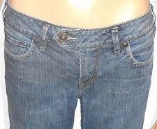 "Silver Jeans Western Glove Works 28/33 Tina Boot Cut Jeans Fits a 32"" Waist"