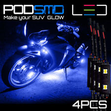 Rock LED Lights Motorcycle BLUE Accent Underbody Neon Glow for Suzuki Hayabusa