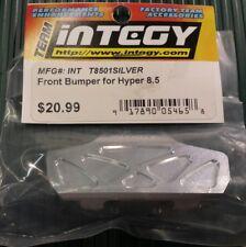 Integy T8501 Hobao Hyper 8.5 Aluminium Front Bumper - Silver