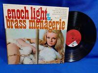 Enoch Light & the Brass Menagerie LP Project 3 PR5036SD Gatefold Weird Cover