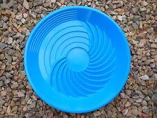 """Turbopan BLUE Gold Pan VORTEX ACTION! Panning 16"""" Prospecting Mining Turbo Pan"""