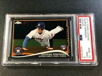 GEORGE SPRINGER 2014 TOPPS CHROME UPDATE #MB-15 ROOKIE RC MINT PSA 9 ASTROS