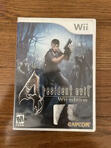 Resident Evil 4 -- Wii Edition (Nintendo Wii, 2007) Complete