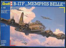 """Revell 04297 - B-17 F """"MEMPHIS BELLE"""" - 1:48 - Flugzeug Modellbausatz - Kit"""