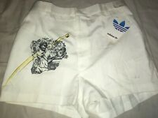 Nos Vtg 70s 80s Adidas Stefan Edberg Trefoil Logo Mens 34 Tennis Shorts Usa Made