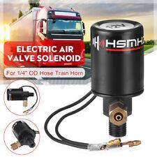 1/4'' NPT Electric Air Valve Solenoid For 1/4'' OD Hose 12V / 24V Train