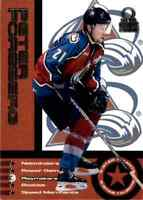 1999-00 Pacific Omega 5 Star Talents Peter Forsberg #19