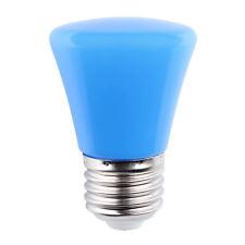 Blue Mini 220V 1.5W E27 LED Light Ball Lamp Globe Golf Bulb