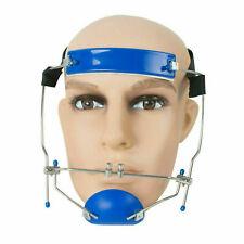 Dental Orthodontic Headgear Protraction Adjustable Reverse Pull Headgear Blue