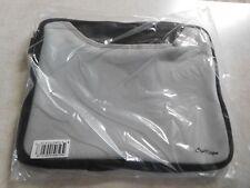 Crazy Digital iPad2  Neoprene Zipper Closure Case Gray & Black Color--Pocket
