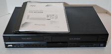 JVC  DR-MV80B  DVD Recorder / VCR Combo  HDMI  1080 Up-Conversion w/ Manual