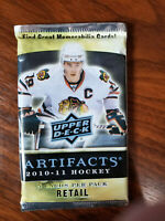 2010-11 Upper Deck Artifacts NHL Hockey 5 card retail pack - single lot packs