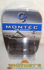 G5 Montec Preseason 85 Grain Broadheads - Item #117-3Pk