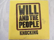Will And The People - Knocking - Cardsleeve Single PROMO CD (1 Track) NEUWERTIG