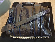 Authentic Alexander Wang Rocco Inside Out Dark Blue Navy with Silver Studs