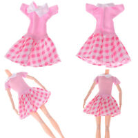 Handmade party dress doll clothes dolls accessories for girl giftsRR