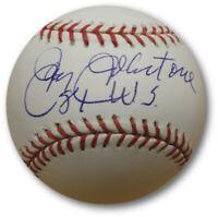 Jay Johnstone  Hand Signed Autographed Major League Baseball Dodgers 1981 WS