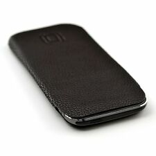 Synth Leather Professional Sleeve Case for HTC One M8 - Executive slip on cover