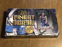 RARE Topps Finest Basketball Series 2 NBA Box Factory Sealed (24 Packs) Kobe?