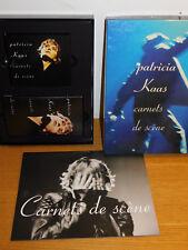 COFFRET livret concert photos CD K7 video vhs PATRICIA KASS carnets de scene