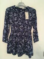 Robe Fille TIFFOSI Comeros 100% coton Bleu