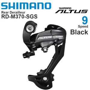 Shimano Altus RD-M370 7/8/9 Speed MTB Bike Bicycle Rear Derailleur M390 M2000