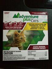 New listing Advantage Ii generic Adventure Plus for Cats 4pk 5-9lb