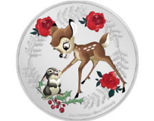 Niue. 2 Dollars 2020 BE - Salutations de la saison Disney - Bambi et Panpan - 1