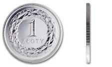 1 zloty złoty 2019 Polen Poland Polonia Pologne circulate coin UNC