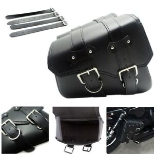 Universal Motorcycle Side Saddle Bags For Harley Davidson Sportster XL883 XL1200