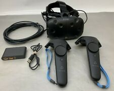HTC Vive Virtual Reality Headset w/ 2 Controllers, Deluxe Audio Strap & Extender