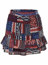 *895/2 NEU ONLY Damen Mini Sommer Stufen Rock onlGIZMO AOP SKIRT WVN Gr.38