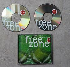 CD AUDIO / FREEZONE 3 : HORIZONTAL DANCING VARIOUS ARTISTS 1999  2 X CD COMPIL