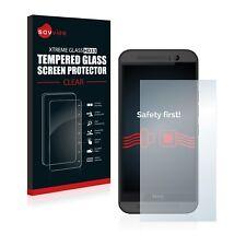 Savvies Schutzflie Panzerglas Glasfolie für HTC One M9 Echtglas