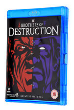 BROTHERS OF DESTRUCTION Rare BLU RAY WWE Greatest Matches Region B