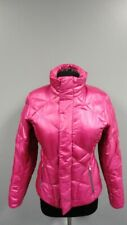 SPYDER Pink Polyester Lined Full Zip Quilted Ski Snow Jacket Size S GG3508