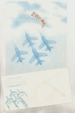 Letterhead & Envelope BLUE ANGELS U. S. United States NAVY Air Force STATIONERY