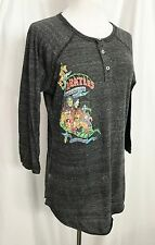Beatles T-Shirt Alternative Earth Henley Top Limited Edition size Medium Unisex