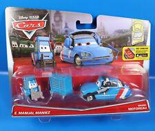 Disney PIXAR Cars Doppel Pack  E.Manual Maniez + Bruno Motoreau