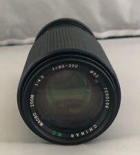 80-200mm F/4.5 M.C Optics For NIKON Cameras AF Zoom Lens
