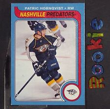 PATRIC HORNQVIST RC 2008-09 O-Pee-Chee 1979-80 Retro #768 Pittsburgh Pens ROOKIE