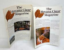 THE HAVANA CIGAR MAGAZINE N.2/3 1987-88,Cigare de La Havane[SIGARO CUBANO
