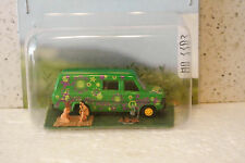 Busch 7702 HO 1/87 Ford Van Hippie Mini World Scene.Wilderness Camping