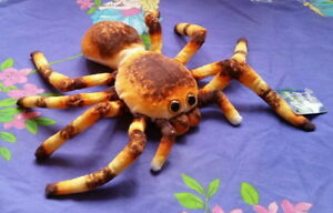 *Lovely detailed LARGE brown, orange and yellow SPIDER* by Elka